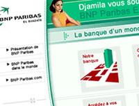 BNP Algérie > Graphisme